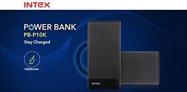 Intex PBP10K 10000mAh Power bank Price in India