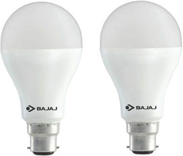 Bajaj 18W B22 LED Bulb (Cool Day light, Pack of 2) Price in India