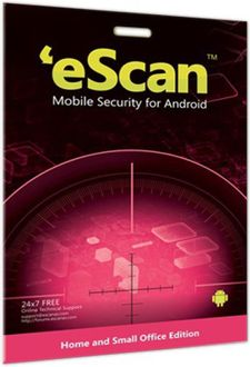 eScan 2017 Mobile Security for Android 1 Phone 1 Year Price in India