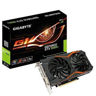 Gigabyte Geforce GTX 1050 Ti (GV-N1050TG1-4GD) 4GB DDR5 Graphic Card Price in India
