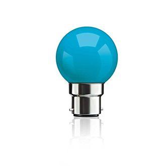 Syska 0.5W B22 LED Bulb (Light Blue) Price in India