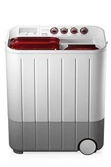 Samsung 7.2Kg Semi Automatic Top Load Washing Machine (WT727QPNDMW) Price in India