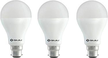 Bajaj 18W B22 LED Bulb (Cool Day light, Pack of 3) Price in India
