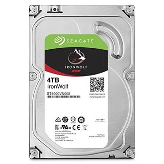 Seagate IronWolf (ST4000VN008) 4TB NAS Internal Hard Disk Price in India