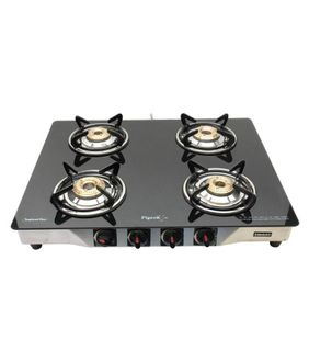 Pigeon Smart 4B 4 Burner Manual Gas Stove Price in India
