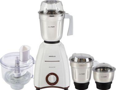 Havells Momenta 600 600W Mixer Grinder (3 Jars) Price in India