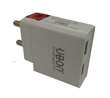 UBON 2.1A Double USB Fast Charger With Data Cable Price in India