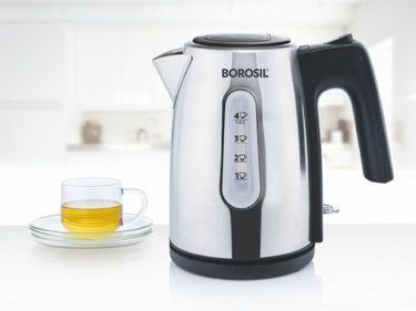 Borosil BKE10LSSB12 1L Electric Kettle Price in India