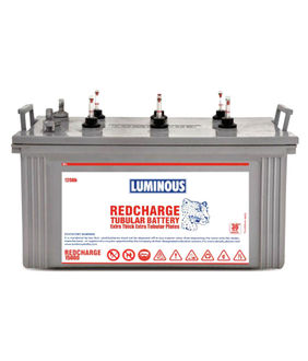 Luminous Red Charge 15000 120Ah Tubular Battery Price in India