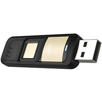 DM PD061 32GB Fingerprint Pen Drive Price in India