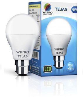 Wipro Tejas 9W B22 LED Bulb (White) Price in India