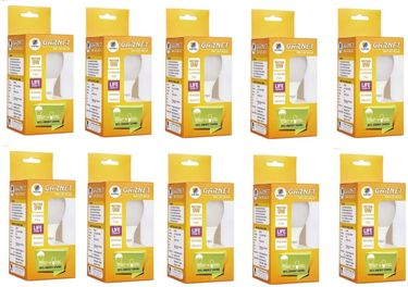 Wipro Garnet 9W B22 LED Bulb (Yellow, Pack of 10) Price in India