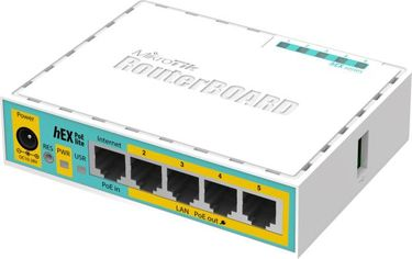 MikroTik RB750UPR2 5 Port Router Switch Price in India