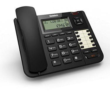 Uniden AT-8502 2 Line Corded Landline Phone Price in India