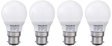 Halonix Astron Base 5W B22 LED Bulb (Cool Day Light, Pack of 4) Price in India