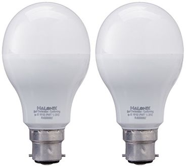 Halonix Photon Plus B22 12W 1200Lumens LED Bulb (Cool Day Light, Pack of 2) Price in India