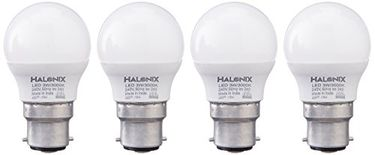 Halonix Astron 3W B22 LED Bulb (Pack of 4, Warm White) Price in India