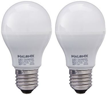 Halonix Photon Plus 7W E27 LED Bulb (Pack of 2, Cool Day Light) Price in India