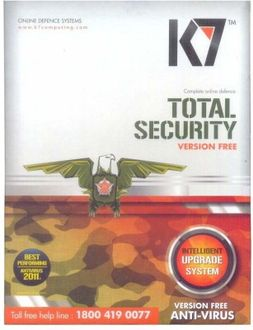 K7 7 Total Security 5 User Antivirus Price in India