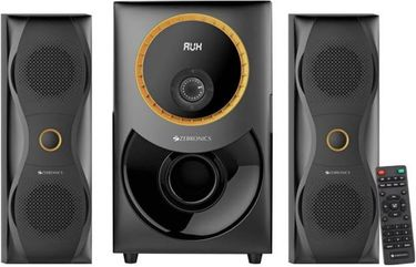 Zebronics Bravo-BT RUCF 2.1 Channel Multimedia Speaker Price in India