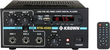 Krown KTA-450USB 45 W AV Power Amplifier Price in India