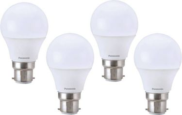 Panasonic 9W B22 Round LED Bulb (White, Pack of 4) Price in India