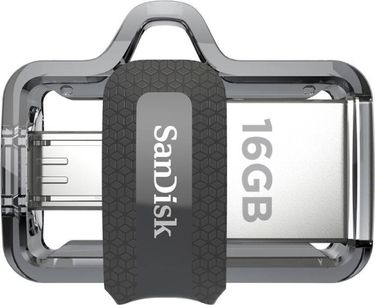 Sandisk Ultra Dual Drive M3 16GB OTG Pendrive Price in India