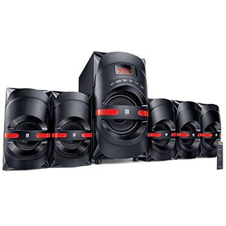 iball Dynamite 5.1 Channel Multimedia Speaker Price in India