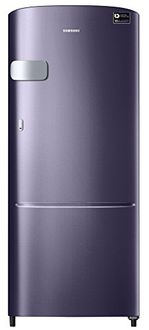 Samsung RR20M2Y2XUT/RR20M1Y2XUT/HL 192 L 5 Star Inverter Direct Cool Single Door Refrigerator (Pebble Blue) Price in India