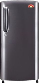 LG GL-B241APZX 235 L 4 Star Inverter Direct Cool Single Door Refrigerator (Shiny Steel) Price in India