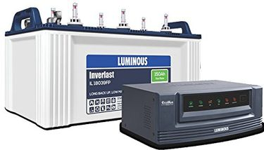 Luminous Ecowatt 650 Inverter (With IL18039 150Ah Battery) Price in India