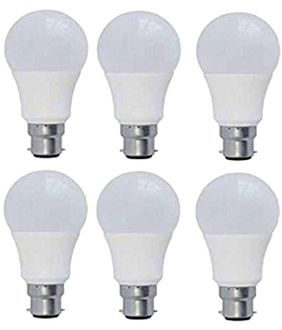 Panasonic 7W B22 Round Led Bulb (Cool Day Light,Pack of 6) Price in India