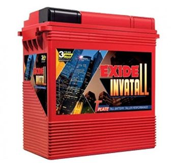 Exide Invatall 1500 150AH Tall Tubular battery Price in India
