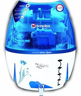 Nasaka Lotus N1 13L RO UV UF ORPH Water Purifier Price in India