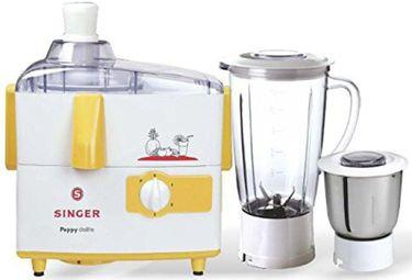 Singer Peppy Delite 500W Juicer Mixer Grinder Price in India