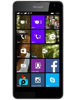 Microsoft Lumia 535 Price in India