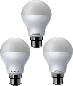 Havells 15W Standard B22 LED Bulb (White, Pack of 3) Price in India