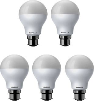 Havells 7W Standard B22 LED Bulb (White, Pack of 5) Price in India