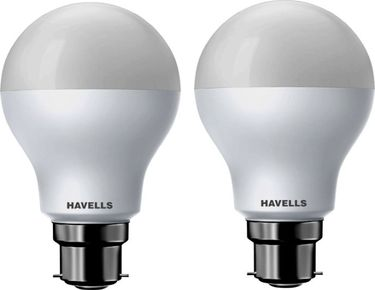 Havells 10W Standard B22 LED Bulb  (White, Pack of 2) Price in India
