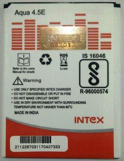 Intex 1200mAh Battery (For Intex Aqua 4.5) Price in India