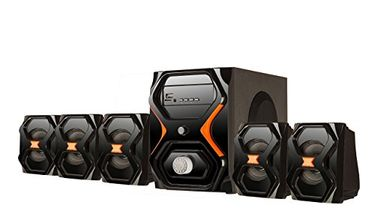 Flow Strom 5.1 Channel Multimedia Speaker Price in India