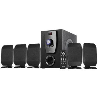 Intex IT-650 FMU 5.1 Channel Multimedia Speaker Price in India