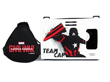 AuraVR Marvel Civil War Team Captain America VR Headset Price in India
