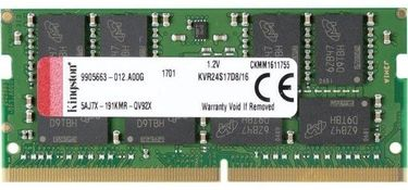 Kingston Value Ram (KVR24S17D8/16) 16GB DDR4 Laptop Ram Price in India