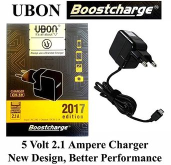 UBON CH-59 5V 2.1A Original Fast Charger Price in India
