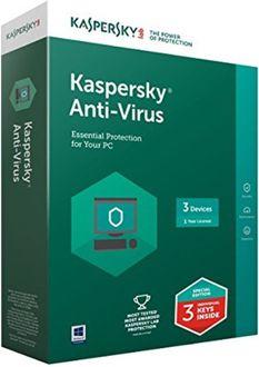 Kaspersky Antivirus 2017 3 PC 1 Year Antivirus Price in India