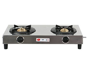 Pigeon Pride 2 Burner Gas Cooktop Price in India