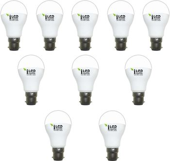 Imperial 3625 10W B22 LED Bulb (Warm White, Pack Of 10) Price in India