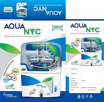 Aquanyc 10Ltr RO UV UF TDS Minimiser Water Purifier Price in India