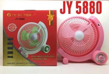 Jy Super JY-5880 Rechargeable Fan Price in India